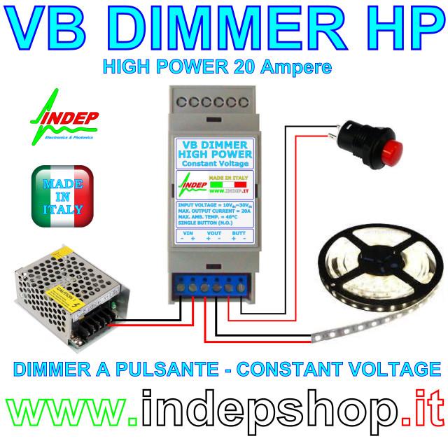 Schema Elettrico Dimmer Per Led : V dimmer